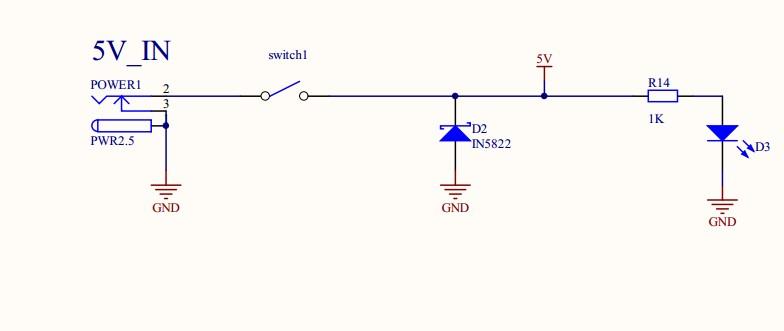防反接电路实图
