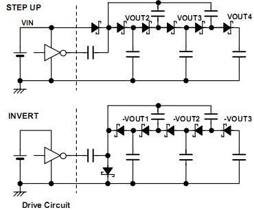 肖特基二极管电荷泵电路特点