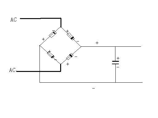 如何纠正整流二极管电路?