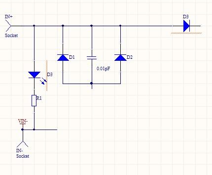 电路的工作原理,太阳能板电源被稳压滤波后经隔离输出给电池或用电器.