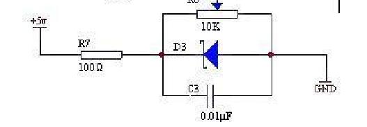 与普通二极管都是单向导电,可用于整流电路中.