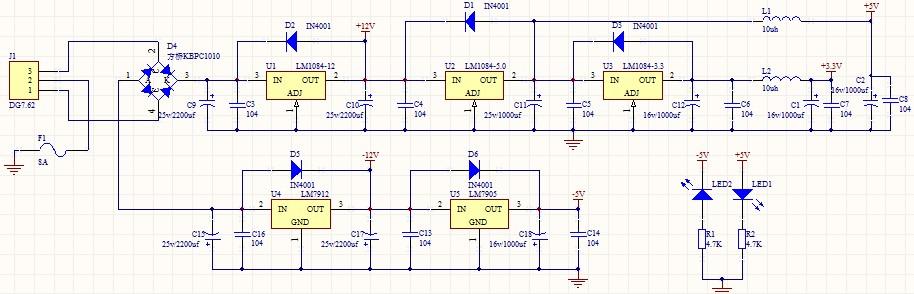 整流二极管在电路图中的具体作用